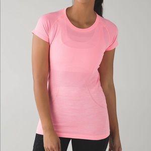 Lululemon Swiftly Tech Pink Short Sleeve Top